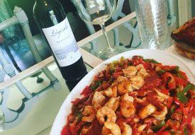 Spicy Cajun Shtimp Pasta