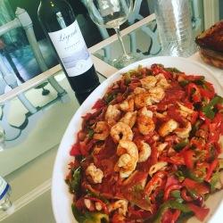 Spicy Cajun Shrimp Pasta