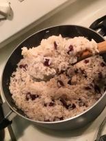 Coconut Rice & Peas