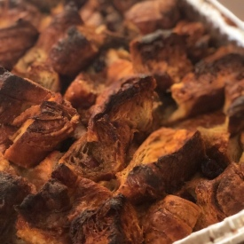 Crossaint Bread Pudding